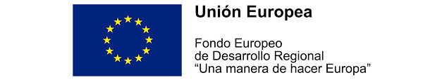 Adscrito al Fondo Europeo de Desarrollo Regional